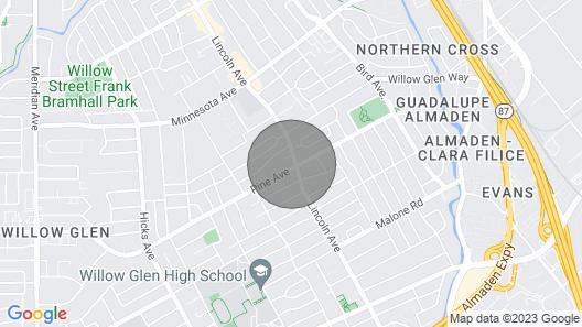 Brand new Modern yet Cozy Duplex Unit Map