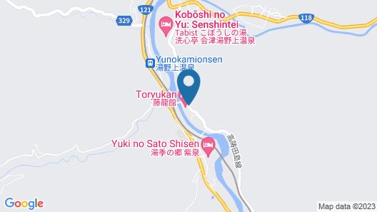 Touryukan Map