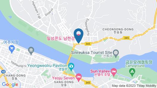 Nam Han River Ilsung Condo Map