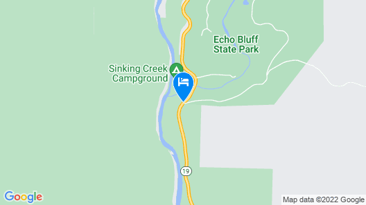 Echo Bluff State Park Map