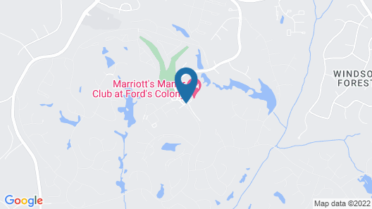 Marriott's Manor Club at Ford's Colony Map
