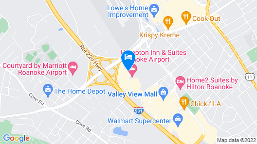 Best Western Plus Inn at Valley View Map