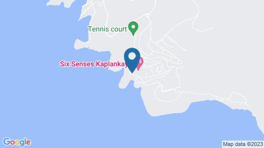 Six Senses Kaplankaya Map