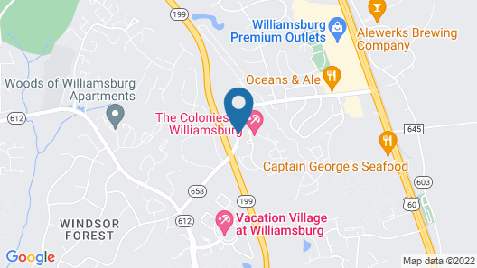 The Colonies at Williamsburg Map