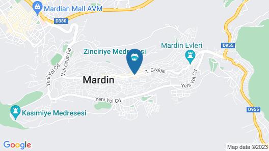 Kadim Otel Map