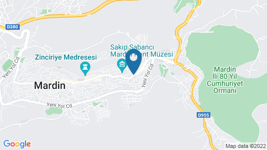 Old City Mardin Map