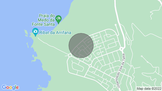 Villa Arrifana - Ensuite Bedroom Map
