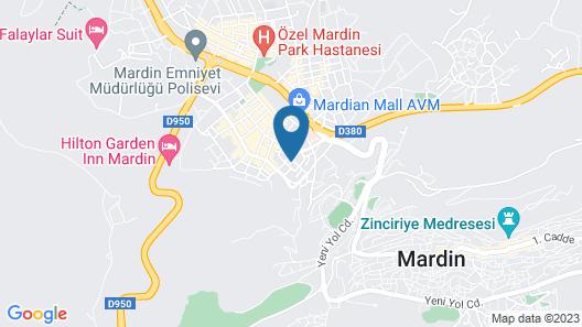 AZD House Hotel Map