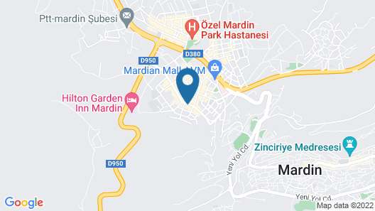 Hilton Garden Inn Mardin Map
