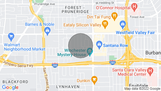 Luxe Modern Guest Home in San Jose! (CDC Safe) Map