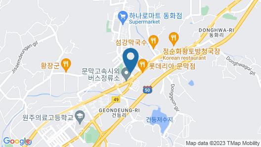 Benikea Hotel Munmak Map