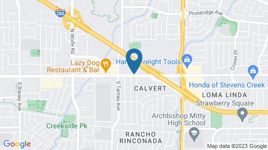 Woodcrest Hotel Map