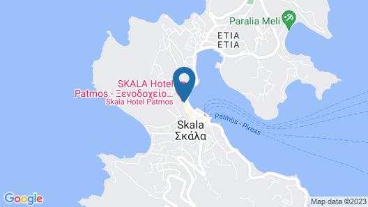 Skala Hotel Map