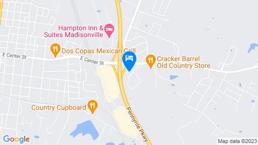 Big Spring Inn Map