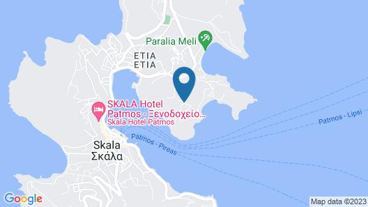 Patmos Studios Map