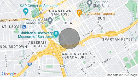 3br/2ba, Victorian House Near Convention Center, Sap, SJ DWT Map
