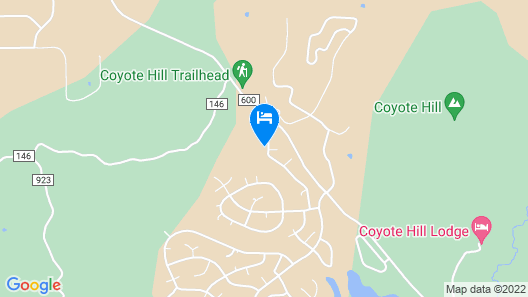 Located in Hatcher Lake Area, Close to National Forest Access Map