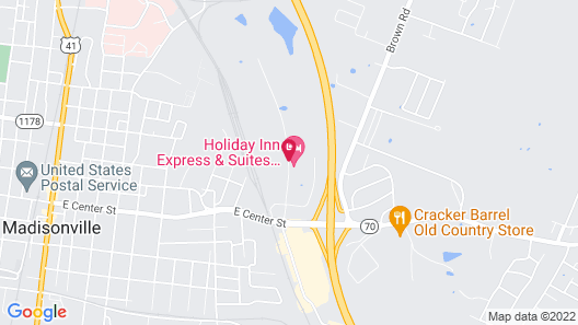 Holiday Inn Express & Suites Madisonville Map