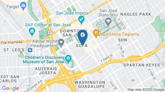 The Westin San Jose Map