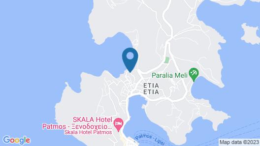 Porto Merika Map
