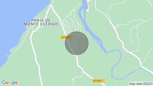 Casa Espartal - Monte Clérigo (Aljezur) Map