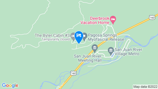 Secluded Mountain Cabin/views/hot Tub/wifi/king Beds/ski/fish/hike Map
