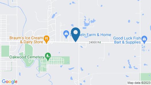 Best Western Parsons Inn Map