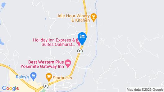 Holiday Inn Express & Suites Oakhurst - Yosemite Park Area, an IHG Hotel Map