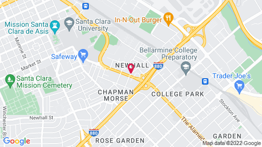 Best Western Plus Airport Plaza Map