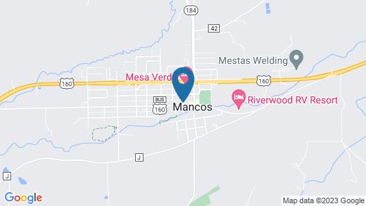 Mancos Inn Map