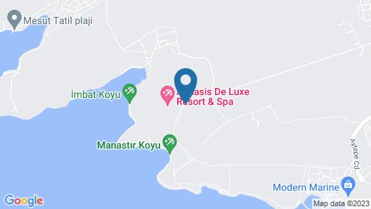 Aquasis Deluxe Resort & Spa - All Inclusive Map