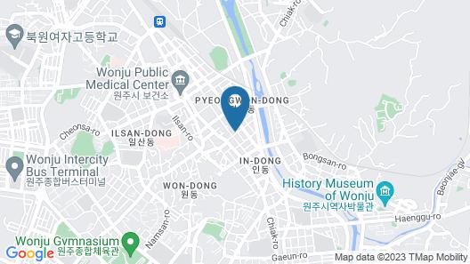 Wonju Kakao Motel Map