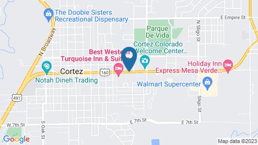 Aneth Lodge Map