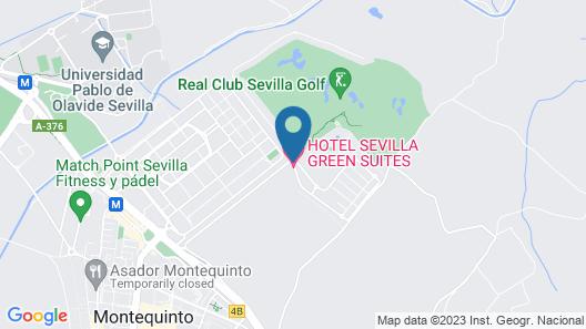 Sevilla Green Suites Map