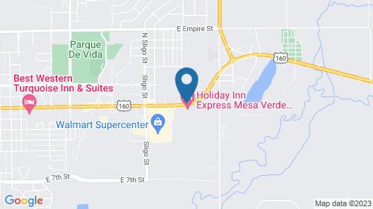 Retro Inn at Mesa Verde Map