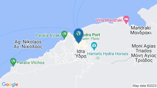 Casa Melenia Hydra Map