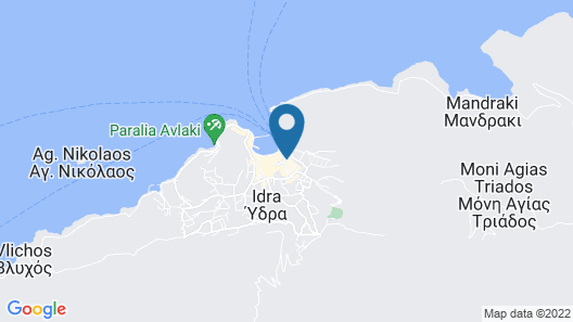 Areti Guesthouse Map