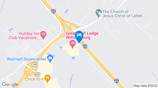 Great Wolf Lodge Williamsburg Map