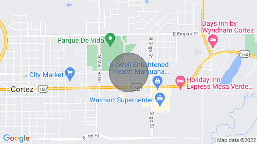 Sunny, Full-sized Kitchen Map