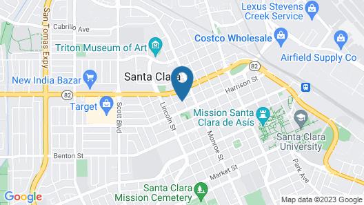 Madison Street Inn B&B Map
