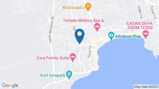 Meryemana Hotel Map