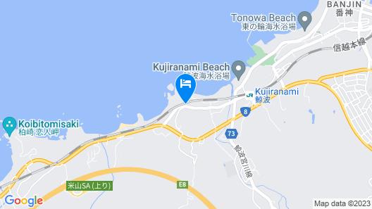 Naniwaya Yunagitei Map