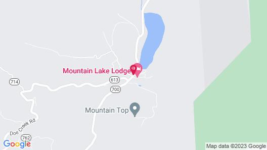 Mountain Lake Lodge Map