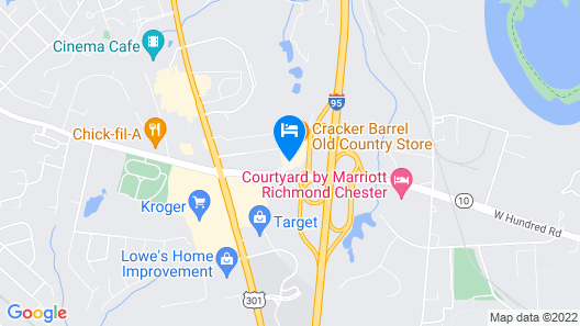 Fairfield Inn By Marriott Richmond Chester Map