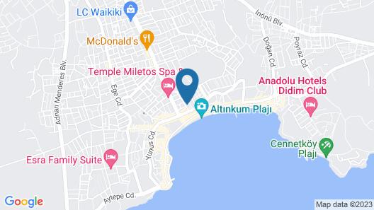 Nazar Hotel Map