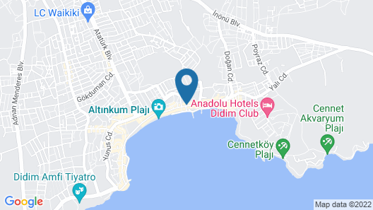 Antioch Apart Otel Map