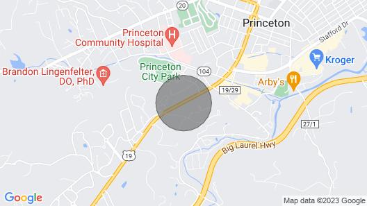 New! Pet-friendly Princeton Apt w/ Private Porch! Map