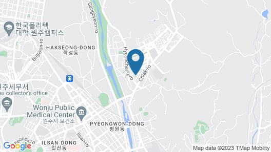 Wonju New Rivera Map