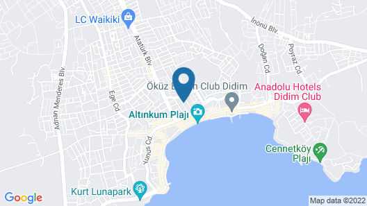 Aristo Butik Hotel Map