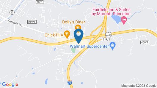 Hampton Inn Princeton Map